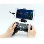 Phone Clip Mount Stand for PS4 Controller Gamepad - Black + White