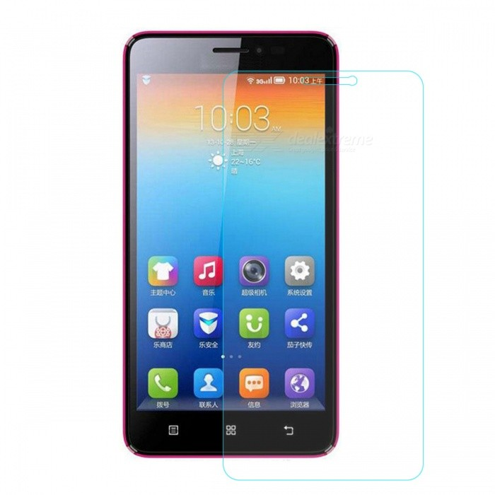 Mr.northjoe 0.3mm Tempered Glass Film for Lenovo S850 - Transparent