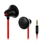 Mrice E100 Wired Noise Cancelling In-Ear-Ohrhörer w / 3,5 mm Klinke für Tablet PC - rot + schwarz