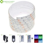 5M 75W Impermeável LED Light Strips RGB 3600lm 300-5050 SMD w / 44-Key Controle Remoto / US Adapter