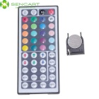 5M 75W Waterproof RGB 300-LED Light Strip w/ 44-Key Remote (US Plugs)