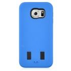 Angibabe AB00011 2-in-1 Protective Silicone + PC Back Case Set for Samsung Galaxy S6 - Blue