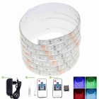 5M 75W Waterproof LED Light Strips RGB 3600lm 300-5050 SMD w/ 10-Key Remote Control / EU Adapter