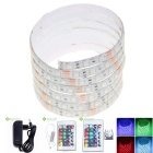 5M 75W Waterproof LED Light Strips RGB 3600lm 300-5050 SMD w/ 24-Key Remote Control / EU Adapter