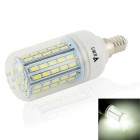 WaLangTing E14 7W dimmbare LED-Lampe Lampen-weißes Licht 4500K 500lm 72-SMD 5730 (110 ~ 240V)