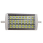 R7S 15W LED Lamp Floodlight Cold White Light 1200lm 48-SMD - Silver