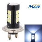 MZ H7 14.5W LED Auto Nebelscheinwerfer Foglight White Light 6500K 1015lm 29-SMD 5630 - Schwarz (12 ~ 24V)