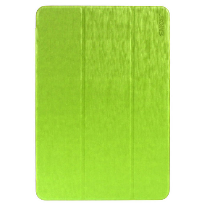 ENKAY 3-Fold Protective Case w/ Stand for Samsung T550 - Green