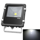 JIAWEN Waterproof 10W LED Floodlight White Light 6500K - Black