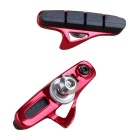 WBP-14 Rubber Road Bike Drawer Type V Brake Pads - Red