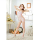 Elegante One Piece Sexy Lingerie - Pink Light