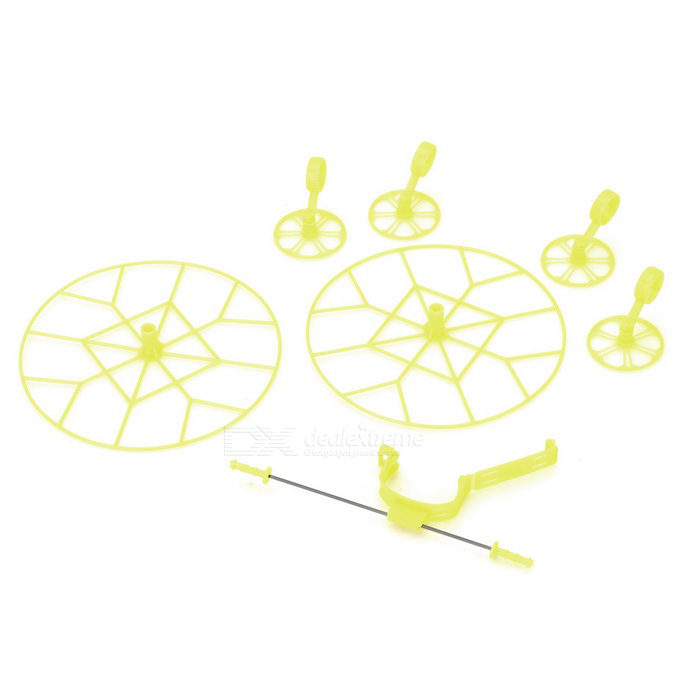 Propeller Blade Guard Bumper Protector Set for Cheerson CX-10 - Yellow
