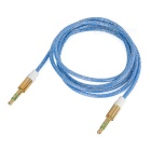 Universal Sparkling 3.5mm M to M Audio Cable - Blue + Golden (94cm)