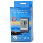 WD1228A Wireless Indoor & Outdoor Pool Thermometer - White + Blue