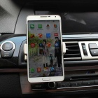 ABS Rotatable Car Outlet Holder for IPHONE 5/6 PLUS - White
