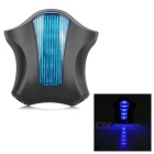 Bicycle 5-LED 7-Mode Blue Light + 2*Red Laser Tail Light - Blue