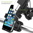Bicycle / Mountain Bike / Motorcycle Mount Mobile Phone Holder - Black
