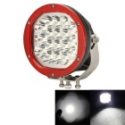 "CRX-7091 7 ""90W-18 LED XTE Driving / Work Light White Light 7650lm 6000K - rot + schwarz (DC 9 ~ 60V)"