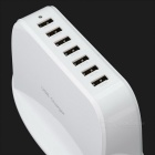 Cwxuan Universal Smart 7-Port USB Charger - White (100~240V, EU Plug)
