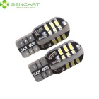 SENCART T10 3W SMD LED Car Lamps White Light 6000K 160lm (2PCS)