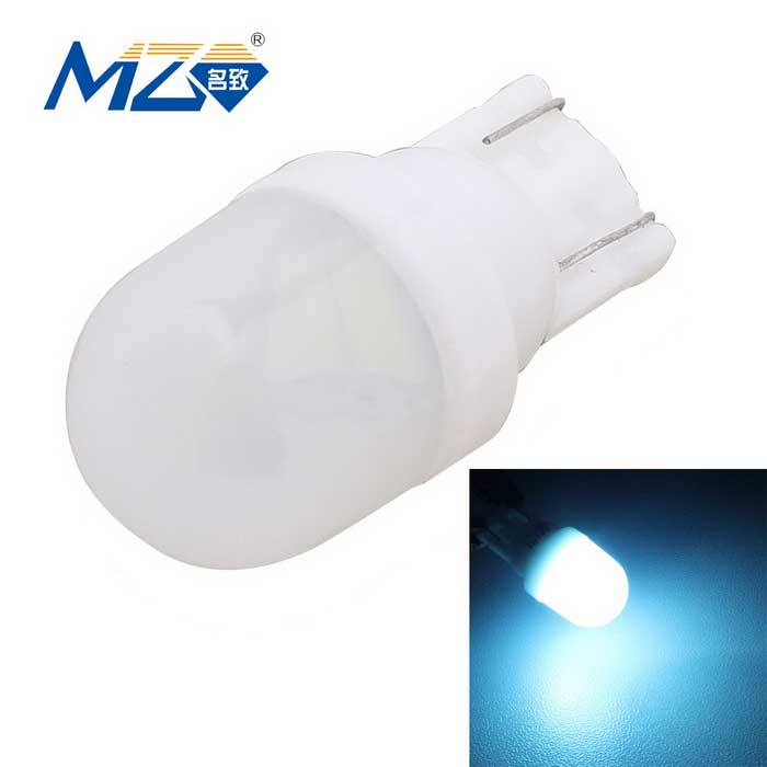 MZ T10 1W Ceramic LED Car Clearance Lamp Ice Blue Light 80lm 2-SMDTail Lights<br>Color BINIce blueModelN/AQuantity1 DX.PCM.Model.AttributeModel.UnitMaterialCeramicForm ColorWhiteEmitter TypeLEDChip BrandOthers,N/AChip Type5630 SMD LEDTotal Emitters2Power1WWavelength460~465 DX.PCM.Model.AttributeModel.UnitTheoretical Lumens100 DX.PCM.Model.AttributeModel.UnitActual Lumens80 DX.PCM.Model.AttributeModel.UnitRate Voltage12VWaterproof FunctionNoConnector TypeT10ApplicationLicense plate light,Clearance lampPacking List1 x Car LED light<br>