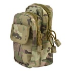 X-2 Outdoor Multi-functional Nylon Waist Bag - Camouflage