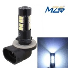 MZ 881 7W LED Auto Nebelscheinwerfer Foglight White Light 6500K 490lm 14-SMD 5630 (12 ~ 24V)
