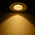 JIAWEN 6W Dimmable Anti-glare COB LED Ceiling Light Warm White 460lm