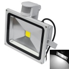 JIAWEN Waterproof 30W White LED Human Body IR Induction Floodlight