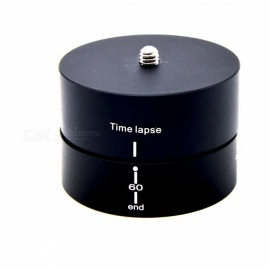360' 60 Minutes Time Lapse Rotating Ballhead for GoPro, Digital Camera
