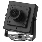 "1/3"" CCD 2.0MP 3.6mm Lens 1200TVL HD FPV CCTV Camera - Black (PAL)"