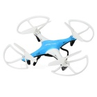 JJRC H10 Headless 2.4GHz 6-Axis Gyro 4-CH R/C Quadcopter - White + Blue