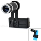 8X Zoom Telescope Lens for Samsung Galaxy 9300 / Note 2 / IPHONE - Black
