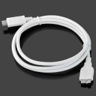 USB 3.1 Type-C Male to Micro-B USB Male Data Cable - White (100cm±2cm)