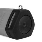 EARSON ER160 Mini Subwoofer Bluetooth-høyttaler m / TF - Deep Grey + Black