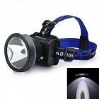 Marsing 10W Outdoor Rechargeable LED Fishing Headlamp Cool White 2-Mode 800lm (3.7~4.2V)