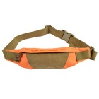 Outdoor Water Resistant 800D Nylon Waist Bag for Cycling - Orange