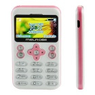 "MELROSE VI 1.7"" TFT LCD GSM Phone w/ Bluetooth, FM, 0.3MP, TF Slot, Voice Recorder - Pink + White"