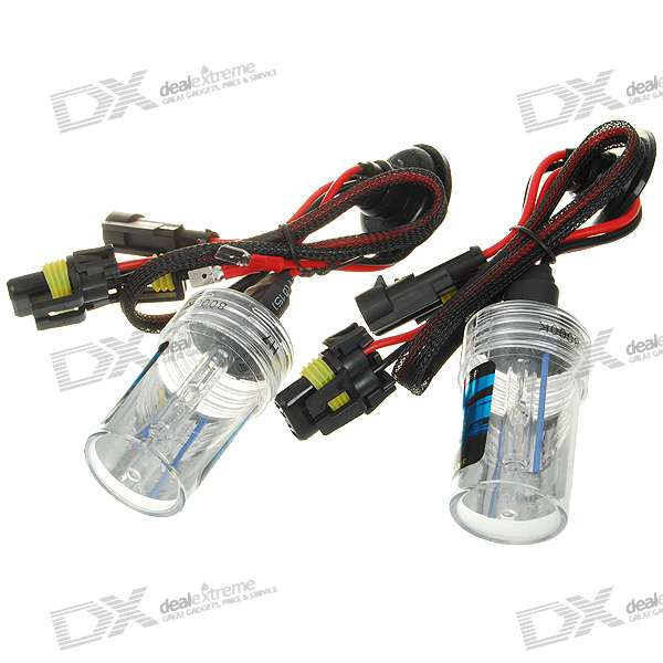 H7 8000K 3800-Lumen Super Vision Xenon HID Vehicle White Light Headlamp Kit (2-Pack)