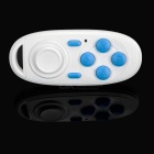 Bluetooth V3.0 Gamepad Selfie Remote Shutter w/ Mouse - White