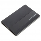 Bank Card Shaped USB 2.0 SIM/TF/SD/MS SDHC Card Reader - Black (Max. 32GB)
