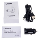 Tronsmart 1-Port USB Quick Charging 2.0 Car Charger Adapter - Black
