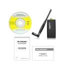 COMFAST CF-WU855P 300Mbps 5dBi Wireless USB Adapter w/ WPS - Black