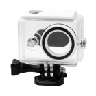 PANNOVO 30m Waterproof Housing Case for Xiaomi Xiaoyi Camera - Transparent + White