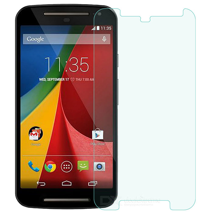 Clear Tempered Glass Screen Protector for Moto G2 - Transparent
