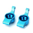 Alloy Back Steering Hub Mounts for WLtoys A959 A969 A979 K929 - Blue