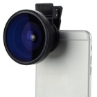 0.25X fish-eye + lente macro para IPHONE 4 / 4S / 5 / 5C / 5S / 6/6 plus - preto