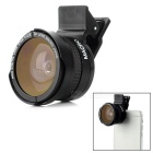 0.42X Fish-eye + 37mm Macro Lens for IPHONE 4 / 4S / 5 / 5S / 5C / 6  / 6 Plus