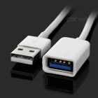 USB 3.1 tipo-c a USB 2.0 + cable de datos USB 3.0 - blanco (33.7cm)