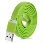 Universal Creative-USB 2.0 / Micro-USB-Lade- / Daten Flat Cable w / Scale - Green (120 cm)